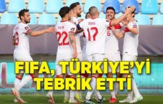 FIFA, Norveç'i yenen Türkiye'yi tebrik...