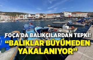 Foça'da balıkçılardan kaçak avlananlara...