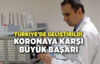 Gaziantep'te koronavirüsü erken teşhis eden...