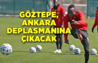 Göztepe, Ankara deplasmanına çıkacak