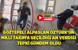 Göztepeli Alpaslan Örtürk'ün Milli Takım'a...