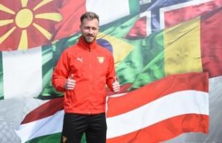 Göztepeli futbolcu Peter Zulj: Süper Lig çok kaliteli