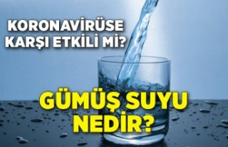 Gümüş suyu nedir? Koronavirüse karşı etkili...