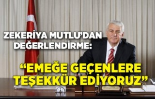 İESOB Başkanı Zekeriya Mutlu, vergi muafiyetini...