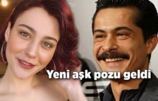 İsmail Hacıoğlu ve Merve Çağıran'dan aşk...