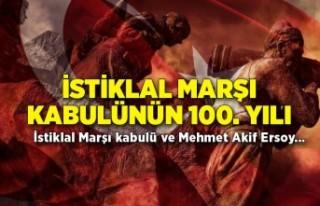İstiklal Marşı kabulünün 100. yılı: İstiklal...