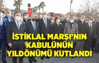 İstiklal Marşı'nın kabulünün yıldönümü...
