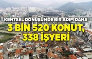 İzmir Büyükşehir Belediyesi'nden kentsel dönüşümde...