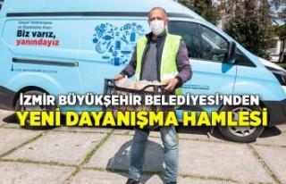 İzmir Büyükşehir Belediyesi'nden yeni dayanışma...