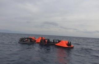 İzmir'de 164 kaçak göçmen kurtarıldı