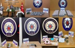 İzmir'de, 1 haftada uyuşturucu operasyonlarına...