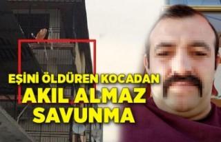 İzmir'de eşini öldüren kocadan akıl almaz...