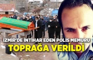 İzmir'de intihar eden polis memuru, Çankırı'da...