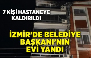 İzmir'de o ilçede belediye başkanının evi...