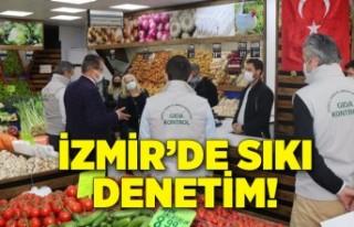 İzmir'de sıkı denetim