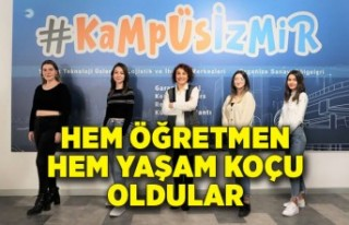İzmir Ekonomi Üniversitesi öğrencileri, hem öğretmen...