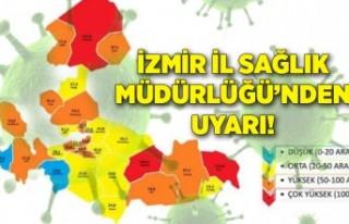 İzmir İl Sağlık Müdürlüğü'nden uyarı!