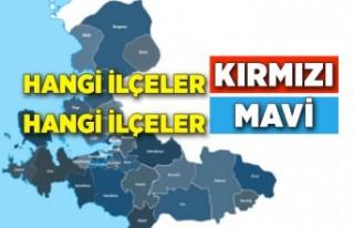 İzmir'in koronavirüs haritası güncellendi!...