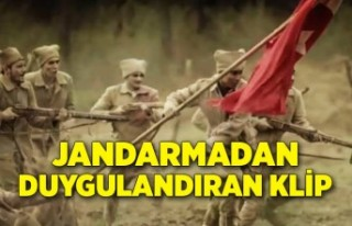 İzmir Jandarmadan duygulandıran klip