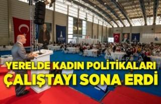 """İzmir'den """"kadın dostu kent' anlayışını..."""