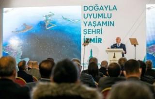 """İzmir'in """"Doğayla Uyumlu Yaşam Stratejisi""""..."""