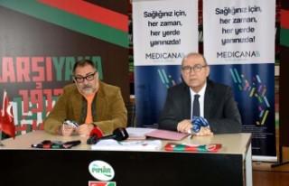 Karşıyaka'ya Medicana sağlık sponsoru