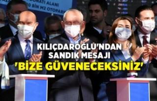 Kılıçdaroğlu'ndan sandık mesajı: 'Bize...