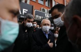 Kılıçdaroğlu, Uşak'ta ziyaretlerde bulundu