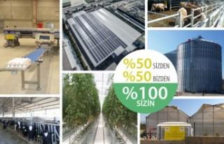 Kırsal kalkınma yatırımlarının %50'si Tarım...