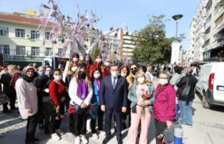 Konak'ta Kadınlar Günü etkinliklerle kutlandı
