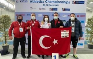 Özel sporculardan Fransa'da 4 altın