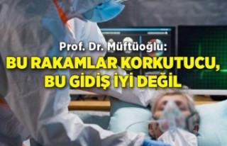 Prof. Dr. Müftüoğlu: Bu rakamlar korkutucu, bu...