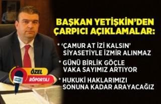 Seferihisar Belediye Başkanı İsmail Yetişkin'den...