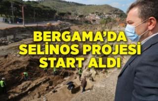 Selinos projesi start aldı, gözler Bergama'ya...
