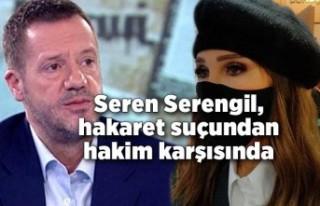 Seren Serengil, Can Tanrıyar'a hakaret suçundan...