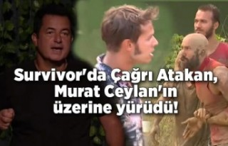 Survivor'da Çağrı Atakan, sunucu Murat Ceylan'ın...
