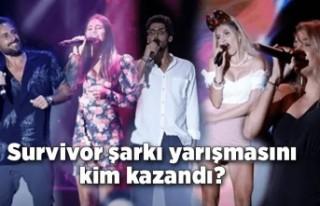 Survivor şarkı yarışmasını kim kazandı?