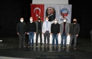 TSYD İzmir'de Bahri Okumuş güven tazeledi
