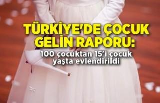 Türkiye'de çocuk gelin raporu: 100 çocuktan...