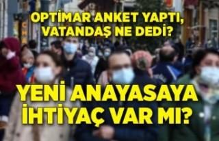 Türkiye'de Yeni Anayasa'ya ihtiyaç var...