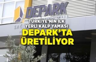 Türkiye'nin ilk yerli kalp yaması DEPARK'ta...