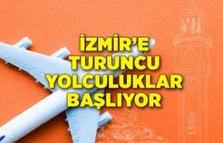 Turuncu Çember hijyen sertifikalı uçuşlar İzmir'den...