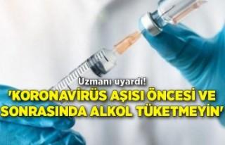 Uzmanı uyardı! 'Koronavirüs aşısı öncesi...