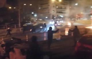 Yunanistan'da polis şiddeti protestosu