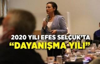 """2020 yılı Efes Selçuk'ta """"dayanışma yılı"""""""
