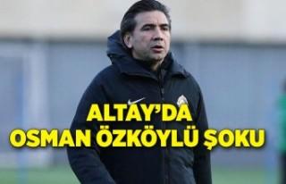 Altay'da Osman Özköylü şoku