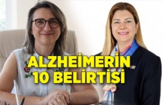 Alzheimerin 10 belirtisi