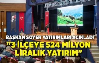 Başkan Soyer Menderes, Torbalı ve Tire'de yaptıkları...