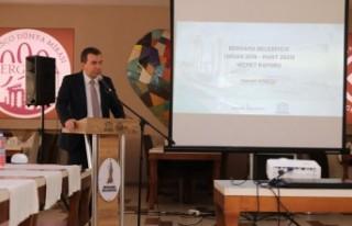 Bergama'ya 2 yılda 298,5 milyon yatırım geldi