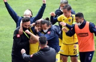 Bucaspor 1928 - Malatya Yeşilyurt Belediyespor: 1-0